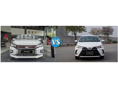 Lựa Chọn Toyota Vios E CVT hay Mitsubishi Attrage CVT Premium