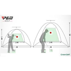 Lồng Tập Golf kích thước 2mx3m, Bộ Tập Golf Giá Rẻ Tại Nhà