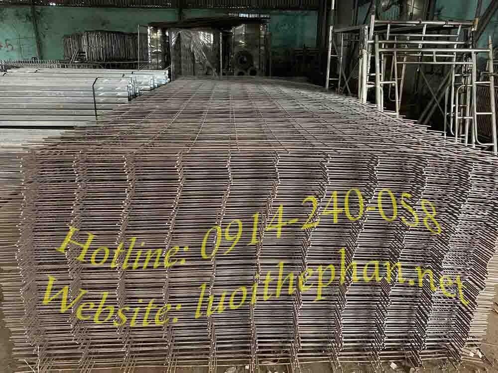 Lưới thép hàn D6 - Ô 200x200 - KT 2300x6000