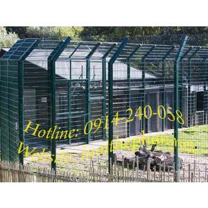Hàng rào chuồng lưới thép dự án