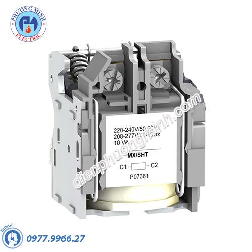 Shunt trip voltage release MX 125VDC 50/60Hz - Model LV429393