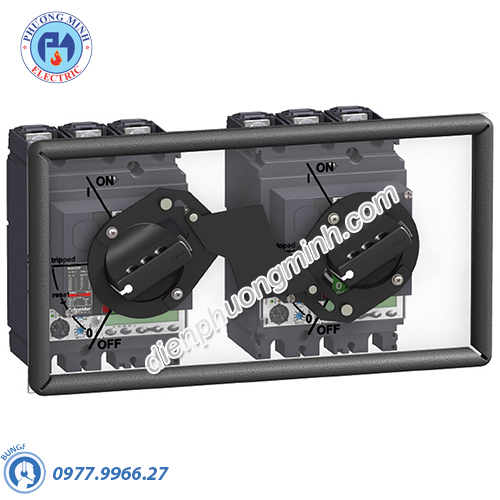 Mechanical interlocking for circuit breaker with rotary handle for NSX400/630 - Model LV432621