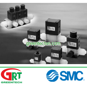 Air-operated valve / for chemicals ø 4 - 22 mm   LV   Van khí SMC   PA   SMC Vietnam   SMC Pneumatic