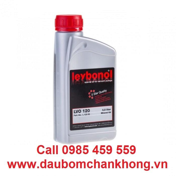 DẦU CHÂN KHÔNG LEYBOLD LVO120 Chai 0,5 lít