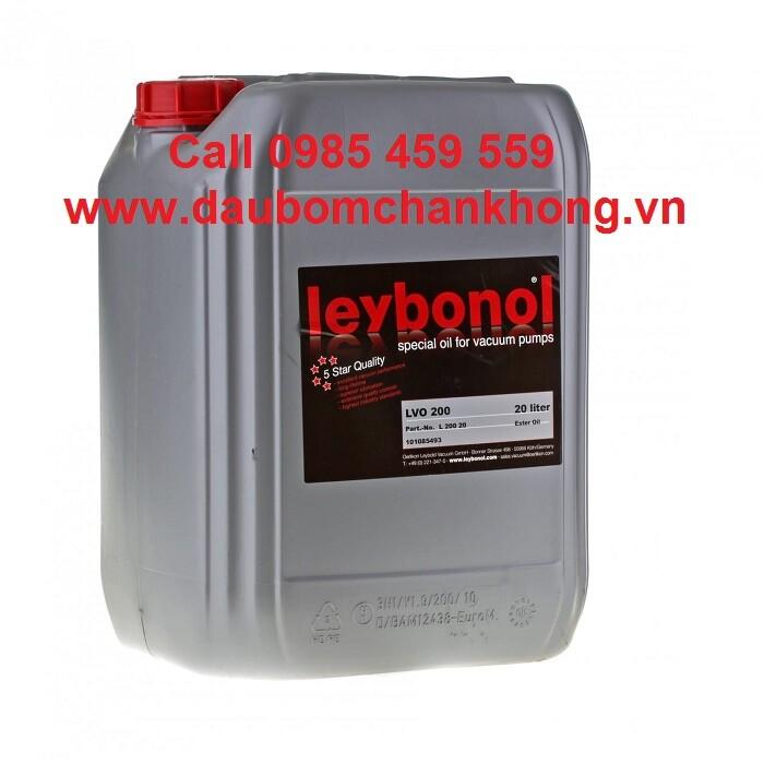 DẦU CHÂN KHÔNG LEYBOLD LVO200 Can 20 lít