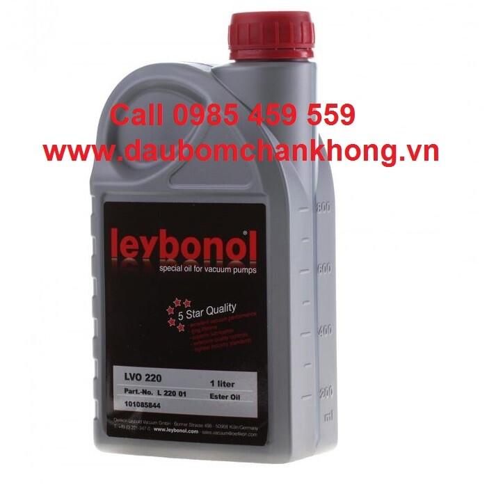 DẦU CHÂN KHÔNG LEYBOLD LVO220 Chai 1 lít