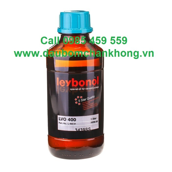 DẦU CHÂN KHÔNG LEYBOLD LVO400 chai 1 Liters