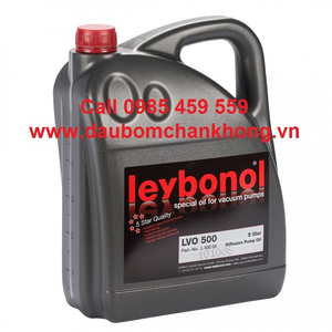 DẦU CHÂN KHÔNG LEYBOLD LVO500 can 5 Liters