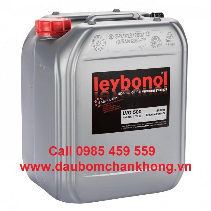 DẦU CHÂN KHÔNG LEYBOLD LVO500 can 20 Liters