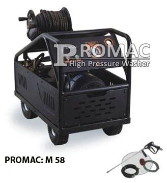 Máy phun áp lực cực mạnh 400 bar PROMAC M58