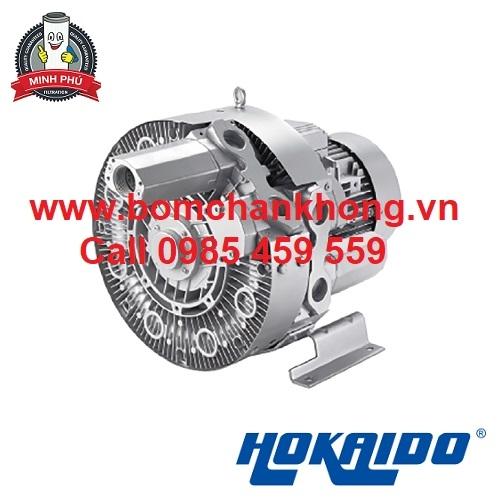 Máy thổi khí HOKAIDO đôi 4HB 630 H67 dùng trong các nhà máy sản xuất
