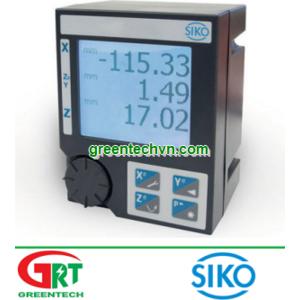 Siko MA523/1   LCD display / 5-digit / 7-segment   Màn hình hiển thị Siko MA523/1   Siko Vietnam