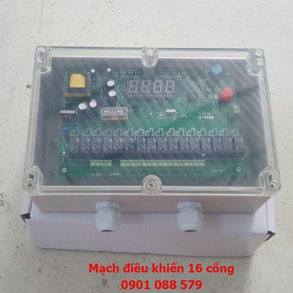 Mạch điều khiển MCY-64 16 cổng điện áp 220V và 24V