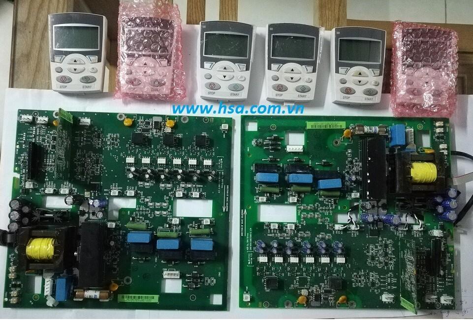 main và màn hình biến tần ABB,