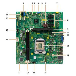 Mainboard DELL Optiplex 3010 3020 MT 3020 Sff