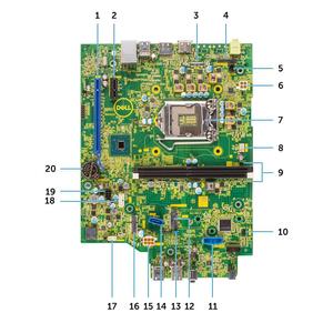 mainboard dell optiplex 3060 sff socket 1151 4Y8V0
