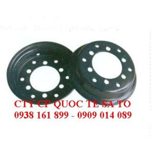 Mâm bánh xe Komatsu FD10-18 - niềng bánh xe