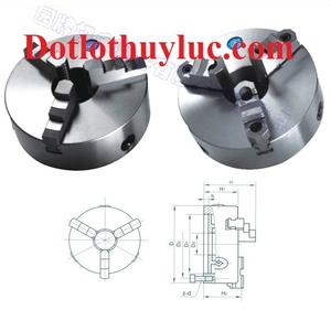 Mâm cặp 3 chấu tự định tâm đường kính 400mm K11-400