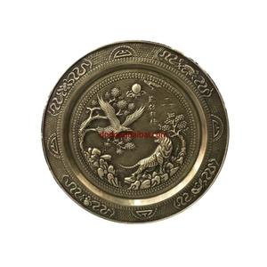 Mâm đồng hổ và đại bàng quần hội đk 52cm