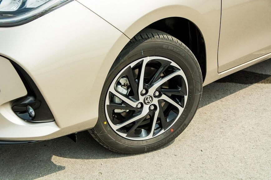 Mâm xe phay CNC 15 inch Toyota Vios bản G mới nhất