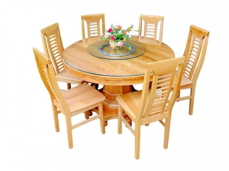 Hình ảnh mâm xoay bàn ăn