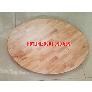 Mâm xoay bàn ăn gỗ