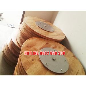 Mâm xoay bàn tiệc bằng gỗ