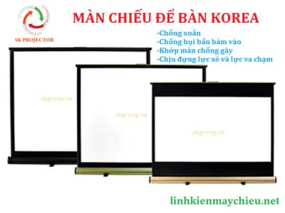 Màn chiếu để bàn 50 inch Korea