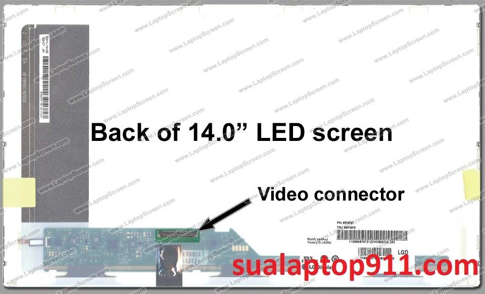 thay màn hình laptop asus X452L