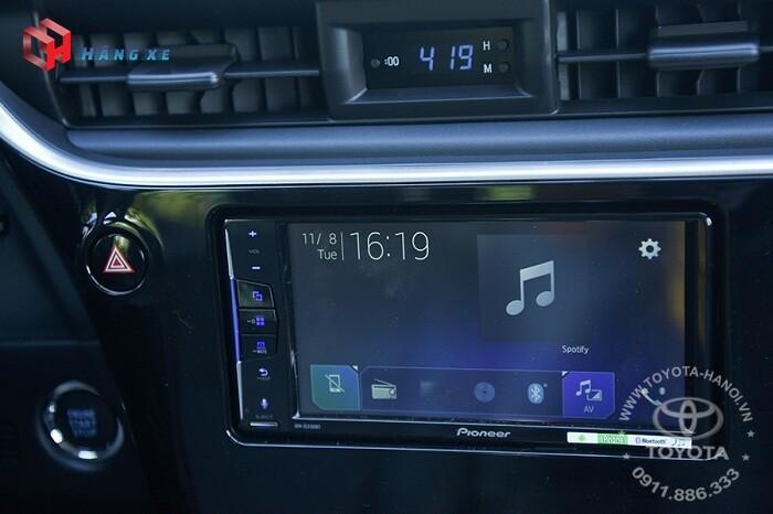 Âm thanh và màn hình DVD của Altis 1.8G 2021