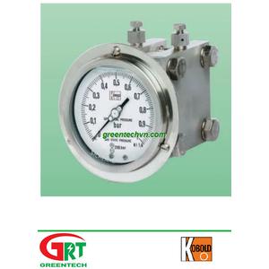 MAN-U | Kobold | Đồng hồ đo áp suất ga Kobold | Analog pressure gauge Kobold | Kobold Việt Nam