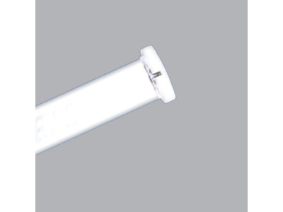 Máng đèn 1 bóng 0.6m chân trắng
