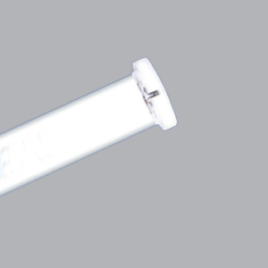 Máng đèn 1 bóng 0.6m chân trắng - MBT 118