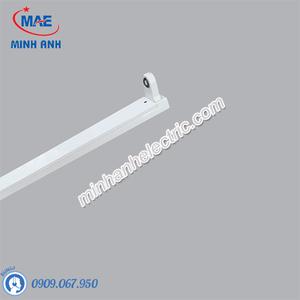 Máng Đèn Batten LED Tube T8 Bóng Đơn MPE 1m2