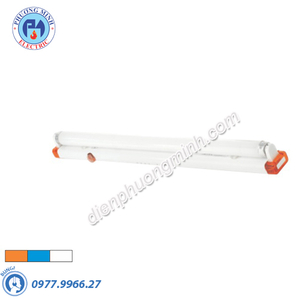 Máng đèn đơn 0,6m siêu mỏng - Model FLD-210B