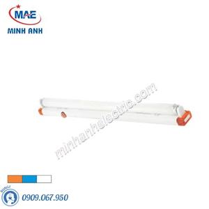 Máng đèn đơn 1,2m siêu mỏng - Model FLB-410B/0/W