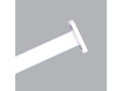 Máng đèn siêu mỏng 2 bóng 1.2m chân trắng