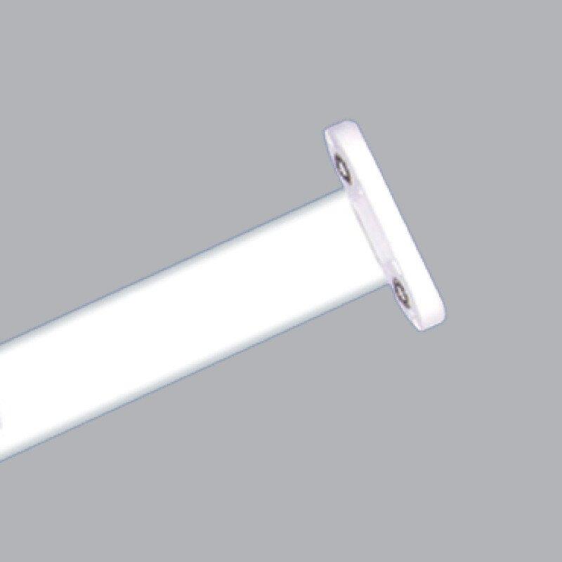 Máng đèn siêu mỏng 2 bóng 1.2m chân trắng - EBT 236