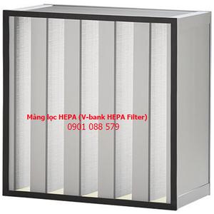 Màng lọc HEPA (V-bank HEPA Filter)
