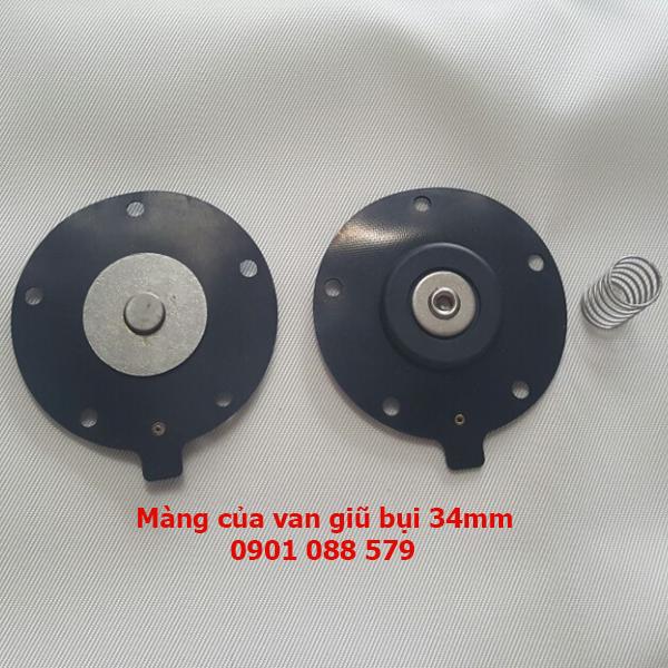 Màng van rũ bụi 34mm| Diaphragm seal Solenoid Pulse Valves