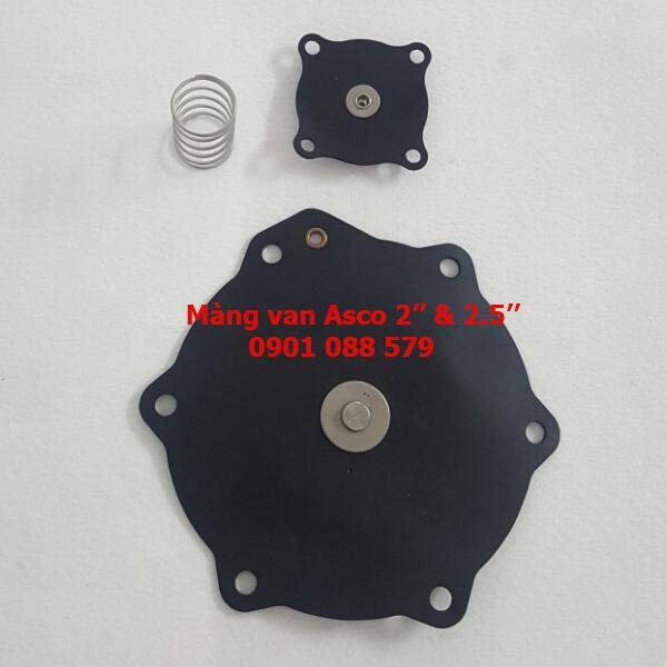 Màng van rũ bụi Asco 2 và 2-1/2'' Diaphragm seal Solenoid Pulse Valves