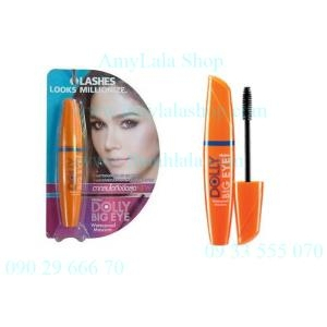 Mascara Lashes Looks Milionize Mistine Dolly Big Eye Waterproof (Made in Thailand) - 0902966670