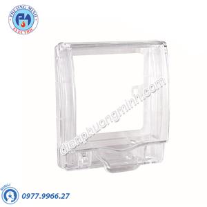 Mặt che phòng thấm nước cho ổ cắm loại vuông, không đế, IP55 - Model E223R_TR