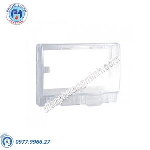 Mặt che phòng thấm nước mặt đôi cho ổ cắm loại vuông, không đế, IP55 - Model ET223R_TR