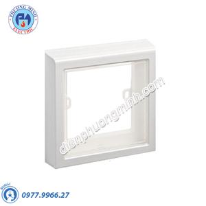 Mặt che phòng thấm nước mặt đơn cho công tắc loại vuông, không đế, IP55 - Model E223M_TR