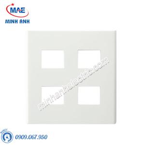 Mặt góc vuông dành cho 4 thiết bị - Model FB7844