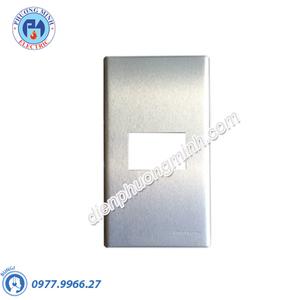 Mặt kim loại bằng nhôm dùng cho 1 thiết bị - Model WEG6501-1