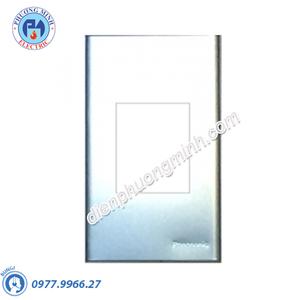 Mặt kim loại bằng nhôm dùng riêng cho WEV1181SW/WEV1191SW/2P MCB - Model WEG65029-1