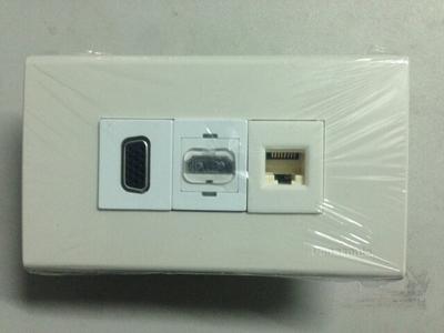 Mặt nạ Đấu VGA, HDMI, RJ45 Âm Tường