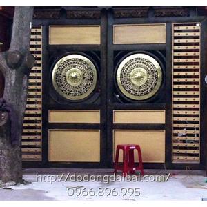 Mặt trống đồng đường kính 80cm trang trí cửa cổng gia đình